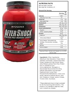 AfterShock Tropical Post-Workout Supplement