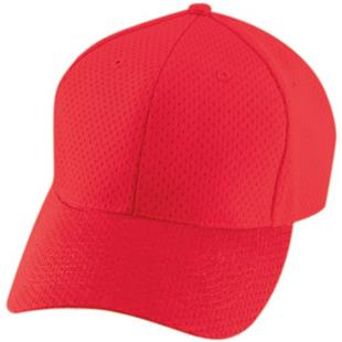 Athletic Mesh 6-Panel Baseball Caps-Closeout