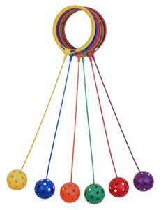 Champion Sports Swing Ball Set of 6 Colors