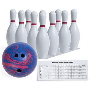 Champion Sports Plastic Bowling Ball & Pin Set
