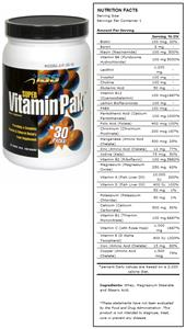 Super Vitamin Pak Vitamin & Mineral Supplement