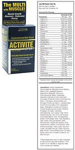 MHP Activite Sport Vitamin & Mineral Supplement