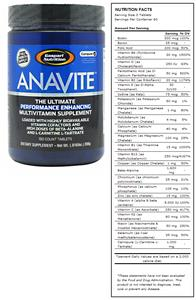 Anavite Vitamin & Mineral Supplement