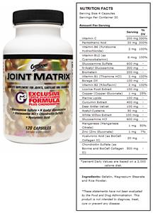 CytoSport Joint Matrix Joint Supplement