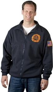 Game Sportswear Firefighter's Full Zip Work Shirt