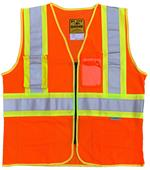 Game Sportswear Mesh D.O.T. Vest with Pockets