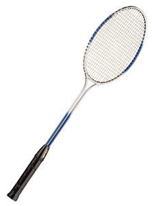 Champion Double Steel Shaft/Frame Badminton Racket