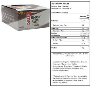Clif Shot Energy Gel - Chocolate