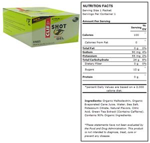 Clif Shot Energy Gel - Citrus