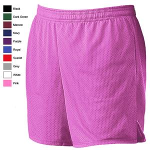 Alleson 565PW Women's Pink Mesh Softball Shorts