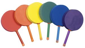 Champion Racquetball Foam Paddles Set of 6 Colors