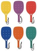 "Champion Sports 15"" Paddleball Racket-Set 6 Colors"