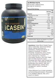 Optimum Nutrition 100% Casein Cookies & Cream 4lbs
