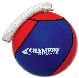Champro Heavy Duty Rubber Tetherball Royal/Scarlet