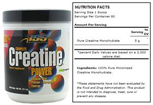 ISS Complete Creatine Power - 400g