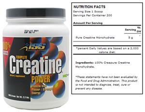 ISS Complete Creatine Power 1000g