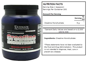 Platinum Series Creatine Monohydrate 1000g