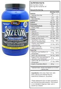 Maximum Performance SizeOn - Artic Lemon Ice