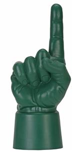 UltimateHand Foam Finger Hand - Forest Green