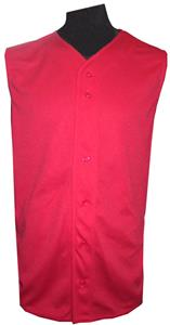 H5 11oz Sleeveless Button Baseball Jersey-Closeout