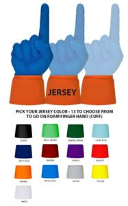 UltimateHand Foam Finger JERSEY ONLY