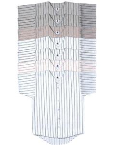 Pinstripe Full Button Baseball Jersey-CLOSEOUT