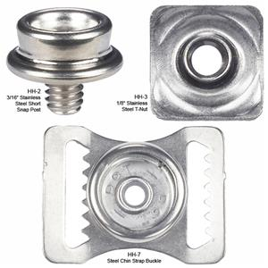 Adams Helmet Replacement Hardware Kits