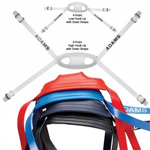 Adams Football Helmet MG Series Chin Straps