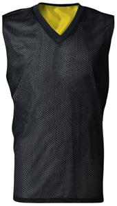 A4 Youth Reversible Mesh Dazzle Muscle Jersey