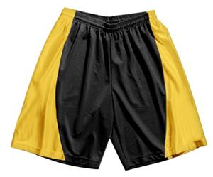 A4 Youth Mesh/Dazzle 7&quot; Inseam Basketball Shorts