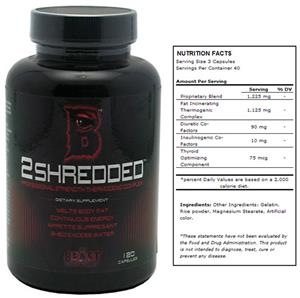 The Beast Sports Nutrition 2 Shredded Dietary Supp