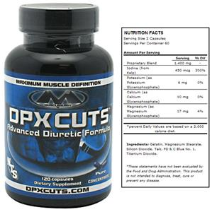 DPX Cuts Muscle Definition Advanced Diuretic Suppl
