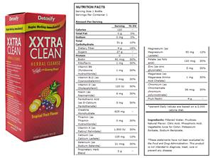Detoxify Xxtra Clean - 20 fl. oz.
