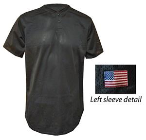 Off Issue Mesh 2 Button Baseball Jerseys-Closeout
