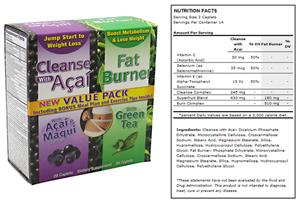 Nx Labs Weight Loss Cleanse and Burn