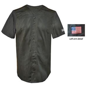 Mesh Full Button Baseball Jerseys-Closeout