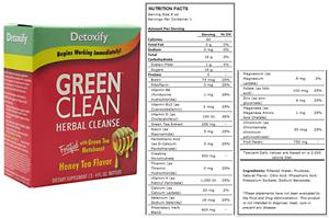 Detoxify Green Clean - 2-4 fl. oz.