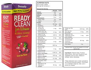 Detoxify Ready Clean for Women - 16 fl. oz.