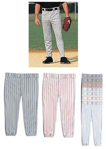14oz Pinstripe Double Knit Baseball Pants Closeout