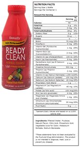 Detoxify Ready Clean Tropical Fruit - 16 fl. oz.