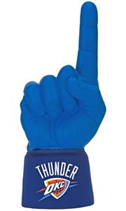 UltimateHand Foam Finger NBA Oklahoma City Thunder