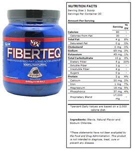 VPX Fiberteq 100% Natural Cookies & Cream