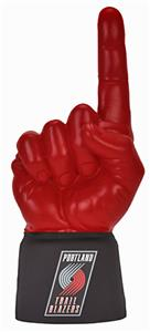 UltimateHand Foam Finger NBA Portland Trail Blazer