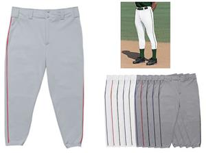 11oz Double Knit Baseball Pants W/Piping Closeout