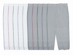 14oz Double-Knit Baseball Pants W/Piping Closeout