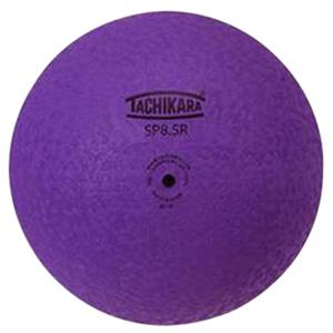 "Tachikara 8.5"" Purple 2-Ply Rubber Playground Ball"