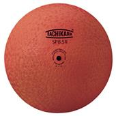 "Tachikara 8.5"" Orange 2-Ply Rubber Playground Ball"