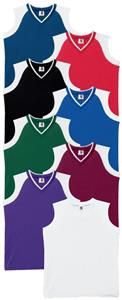 Womens/Girls Sleeveless V Neck Jerseys Closeout