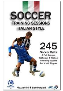 Soccer Training Sessions Italian Style Book