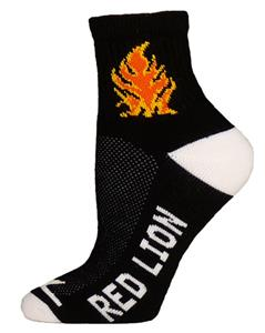 Red Lion Torch High-Tech 1/4 Crew Socks